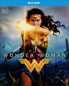 Wonder Woman (2017) Blu-ray Box Art