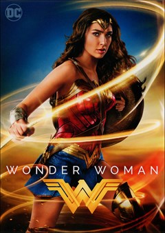 Wonder Woman (2017) DVD Box Art