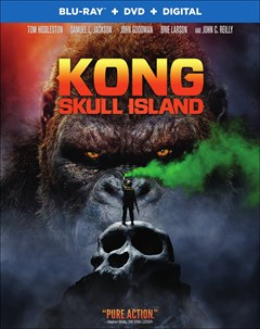 Kong: Skull Island Blu-ray Box Art
