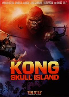 Kong: Skull Island DVD Box Art
