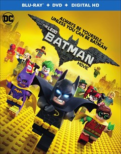 LEGO Batman Movie Blu-ray Box Art