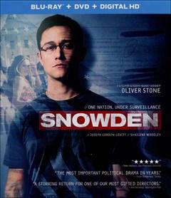 Snowden Blu-ray Box Art