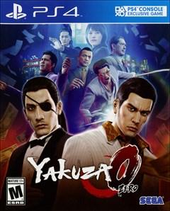 Yakuza 0 PlayStation 4 Box Art