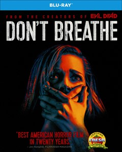 Don't Breathe Blu-ray Box Art
