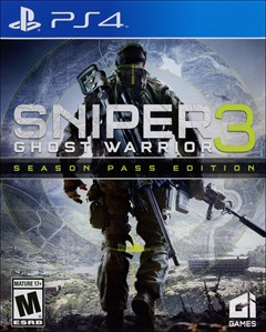 Sniper: Ghost Warrior 3 - Season Pass Edition PlayStation 4 Box Art