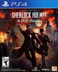 Sherlock Holmes: The Devil's Daughter PlayStation 4 Box Art