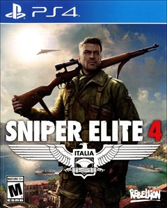 Sniper Elite 4 PlayStation 4 Box Art