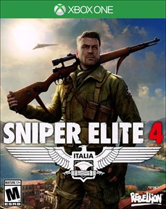 Sniper Elite 4 Xbox One Box Art