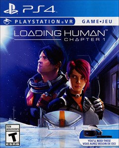 Loading Human PlayStation 4 Box Art