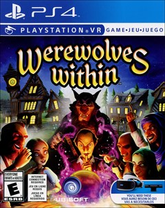 Werewolves Within PlayStation 4 Box Art