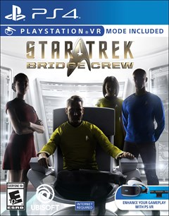 Star Trek Bridge Crew PlayStation 4 Box Art