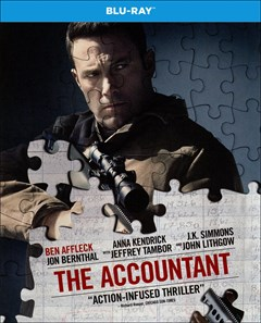 The Accountant Blu-ray Box Art