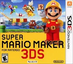 Super Mario Maker Nintendo 3DS Box Art