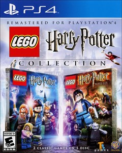 LEGO: Harry Potter Collection PlayStation 4 Box Art