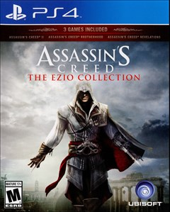 Assassin's Creed: The Ezio Collection PlayStation 4 Box Art