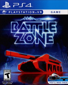 Battlezone PlayStation 4 Box Art