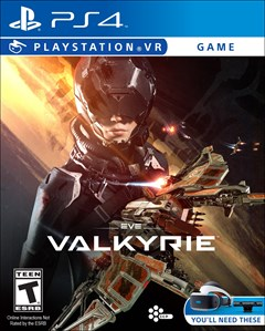 EVE: Valkyrie PlayStation 4 Box Art