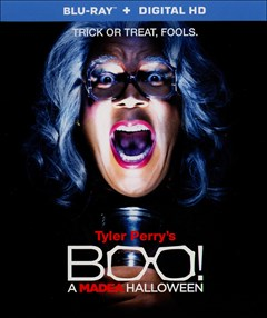 Tyler Perry's BOO! A Madea Halloween Blu-ray Box Art