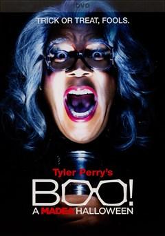 Tyler Perry's BOO! A Madea Halloween DVD Box Art