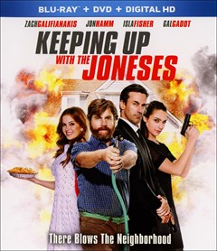 Keeping Up with the Joneses Blu-ray Box Art