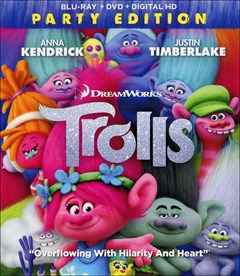 Trolls Blu-ray Box Art