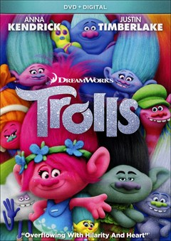 Trolls DVD Box Art