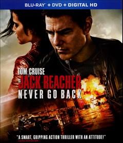 Jack Reacher: Never Go Back Blu-ray Box Art