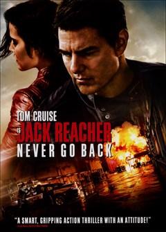 Jack Reacher: Never Go Back DVD Box Art