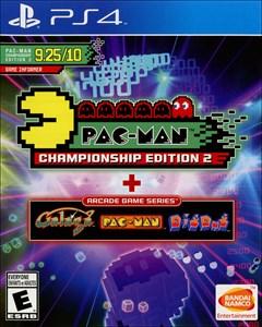 Pac-Man Championship Edition 2 + Arcade Game Series PlayStation 4 Box Art