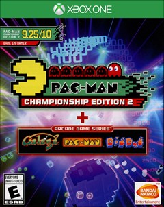 Pac-Man Championship Edition 2 + Arcade Game Series Xbox One Box Art