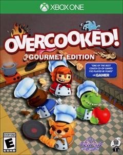 Overcooked: Gourmet Edition Xbox One Box Art