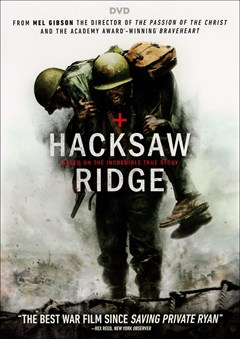 Hacksaw Ridge DVD Box Art