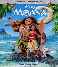 Moana Blu-ray Box Art