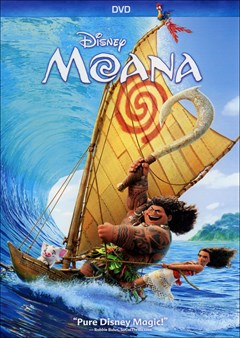 Moana DVD Box Art