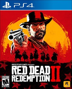 Red Dead Redemption 2 PlayStation 4 Box Art