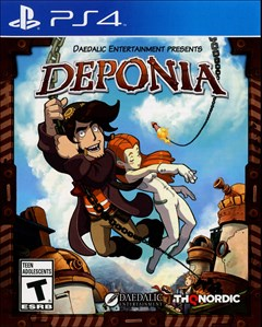 Deponia PlayStation 4 Box Art