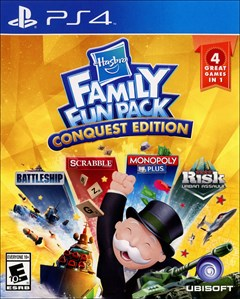 Hasbro Family Fun Pack: Conquest Edition PlayStation 4 Box Art