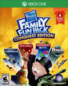 Hasbro Family Fun Pack: Conquest Edition Xbox One Box Art