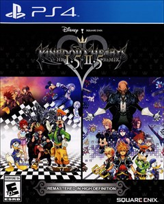 Kingdom Hearts HD 1.5 + 2.5 ReMIX PlayStation 4 Box Art