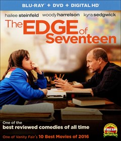 The Edge of Seventeen Blu-ray Box Art
