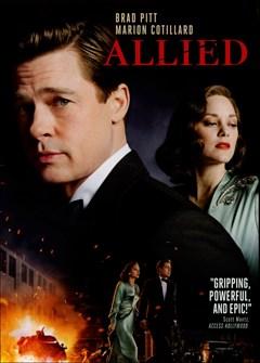 Allied DVD Box Art