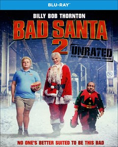 Bad Santa 2 Blu-ray Box Art