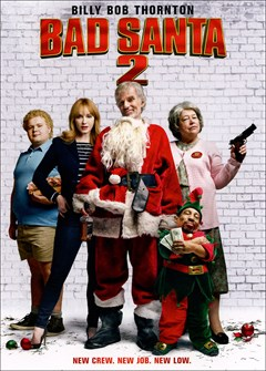 Bad Santa 2 DVD Box Art