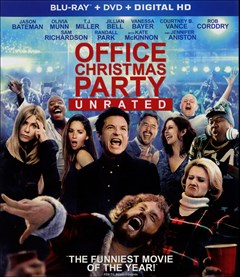 Office Christmas Party Blu-ray Box Art