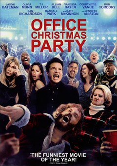 Office Christmas Party DVD Box Art