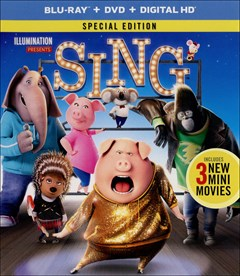 Sing (2016) Blu-ray Box Art