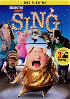 Sing (2016) DVD Box Art