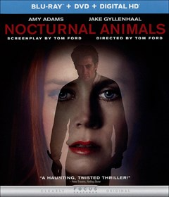 Nocturnal Animals Blu-ray Box Art