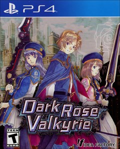 Dark Rose Valkyrie PlayStation 4 Box Art