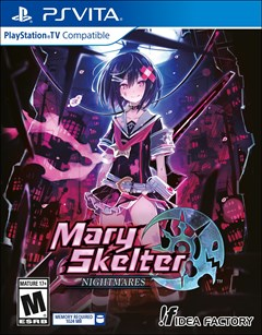 Mary Skelter: Nightmares PlayStation Vita Box Art